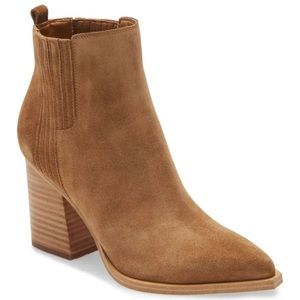 Marc Fisher Oshay Pointed Toe Bootie